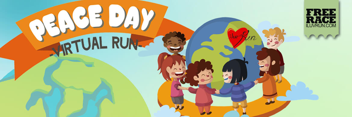 Join Now for FREE! Peace Day Run