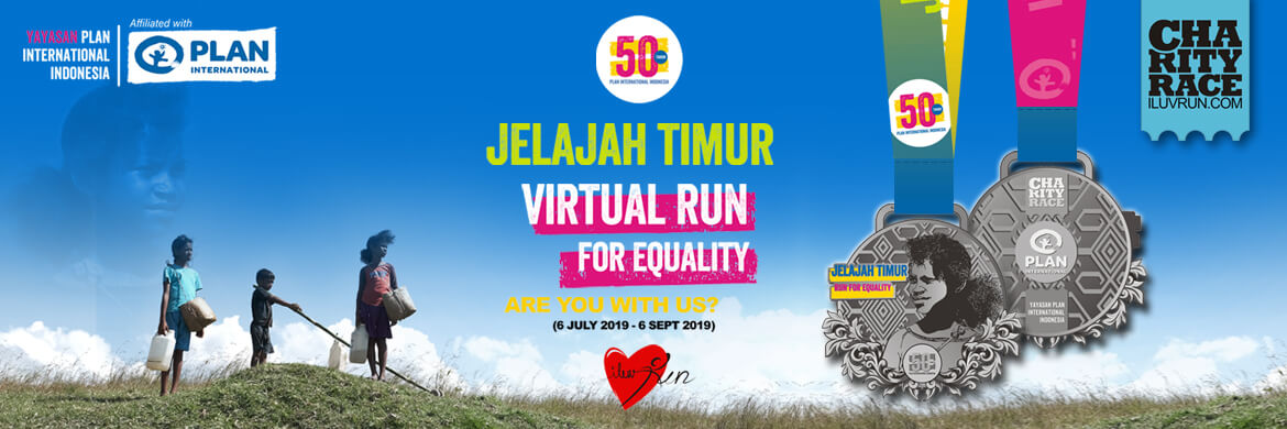 Join now and help provide clean water! Run for Equality