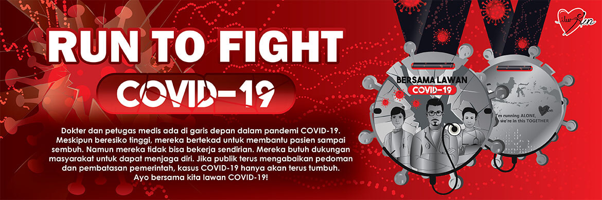 Join now and run to fight COVID-19!