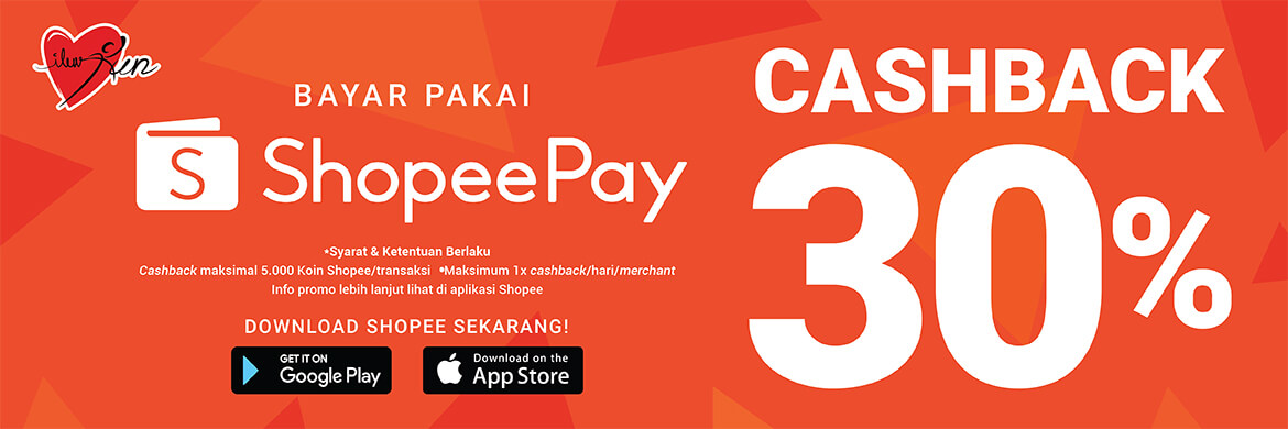Get 30% Cashback* for payments with ShopeePay!