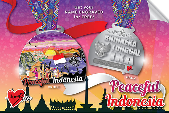 Join Now! Peaceful Indonesia