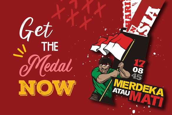 Join Now! Merdeka Run