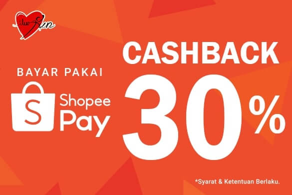 Get 60% Cashback* for payments with ShopeePay!