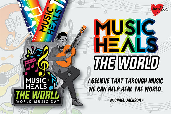 Join now! Music Heals the World!