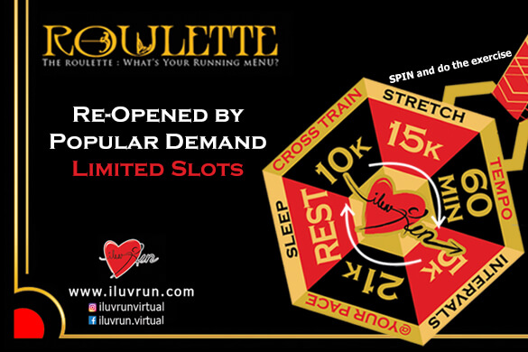 Join Now! The Roulette II: What's your running menu?