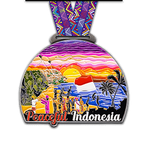 Peaceful Indonesia (front)