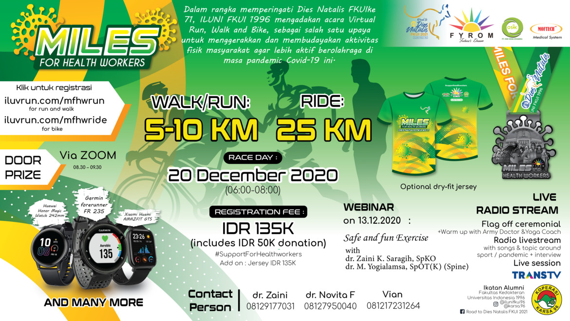 Miles for Health Workers Run/Walk