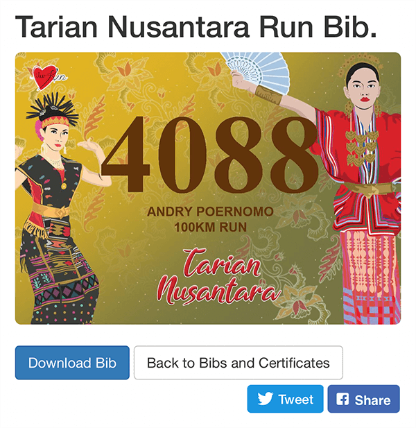 Bib download page
