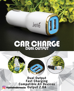 Dual Output Charger for Car